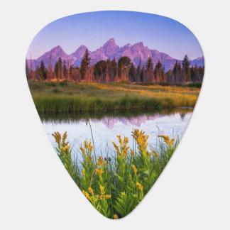 Tetonの日の出 ギターピック