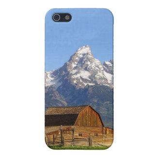 Teton壮大な山 iPhone SE/5/5sケース