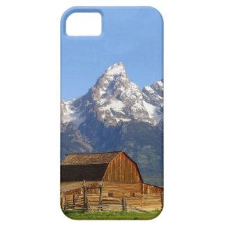 Teton壮大な山 iPhone SE/5/5s ケース
