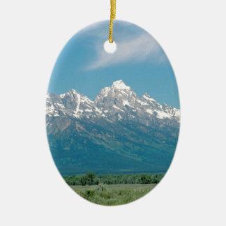 Tetonsの壮大な国立公園 セラミックオーナメント