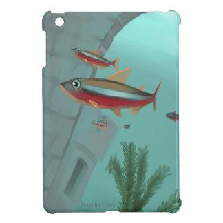 Tetraネオン iPad Mini カバー