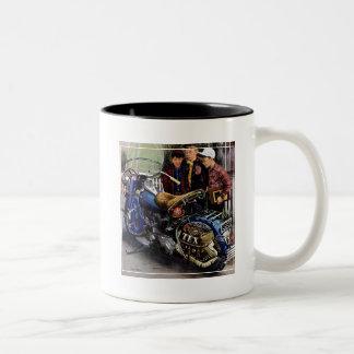 Texのオートバイ ツートーンマグカップ