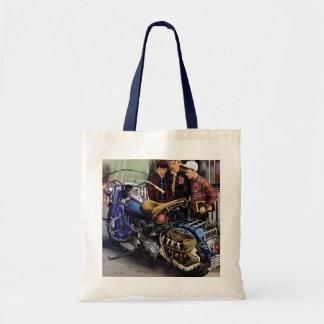 Texのオートバイ トートバッグ