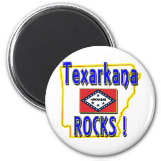 Texarkanaの石! (青) マグネット