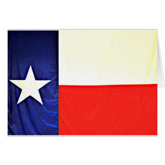 Texas Flag Note Cards カード
