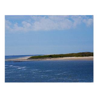 Texelの海岸線 ポストカード