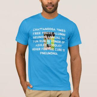 TFP 5KのTシャツ(ヌードルの版) Tシャツ