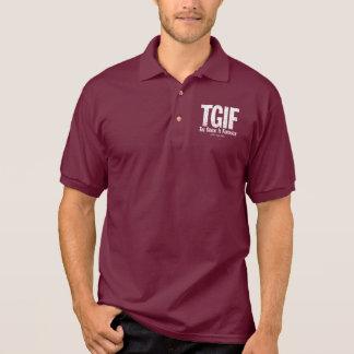 TGIF: ゴールキーパーは素晴らしいです(ホッケー) ポロシャツ