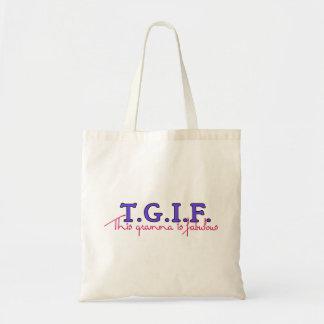 TGIF-Gramma トートバッグ