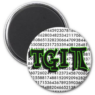 TGIPI -それによってがPI日である神を感謝していして下さい! 3月14日3.14日 マグネット