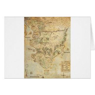 TGTの大陸地図 カード