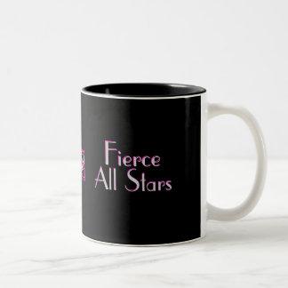 th_Fierce、私はむしろ激しいチアリーダーをすること…です ツートーンマグカップ