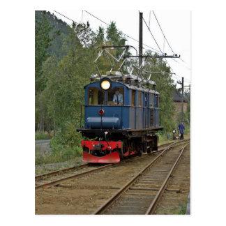 Thamshavnbanenの電気機関車第8 ポストカード