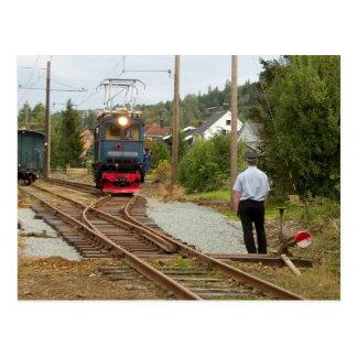 Thamshavnbanen、ノルウェー。 回避の時間 ポストカード