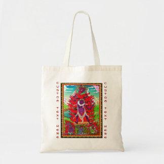 thangkaの入れ墨のEkajatiのクールな東洋のチベットの芸術 トートバッグ