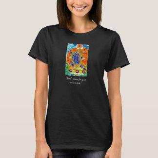 thangkaの入れ墨のVajrapaniのクールなチベットの菩薩 Tシャツ