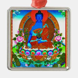 thangkaのBhaisajyaguruのクールな東洋のチベットの入れ墨 メタルオーナメント