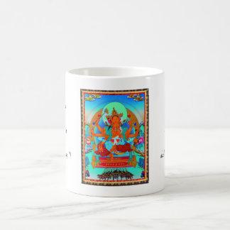 thangkaのMariciのクールな東洋のチベットの入れ墨 コーヒーマグカップ