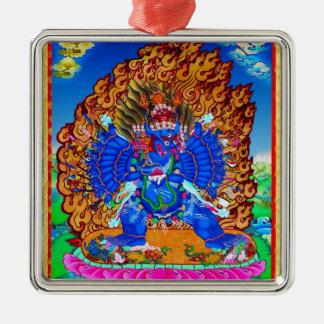 thangkaのYamantakaのクールな東洋のチベットの入れ墨 メタルオーナメント