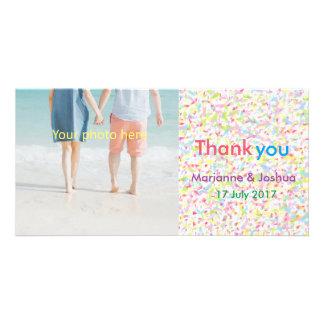 Thank you, wedding, card, 感謝、結婚、カード カード