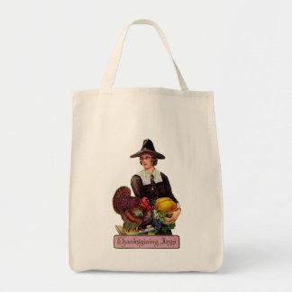 Thankgivingの喜びのトートバック トートバッグ