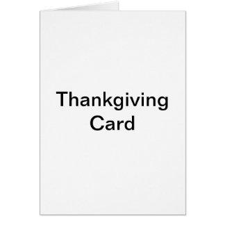 ThankGivingカード カード