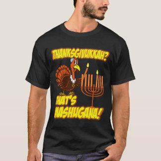 Thanksgivukkah MashuganaのTシャツ Tシャツ