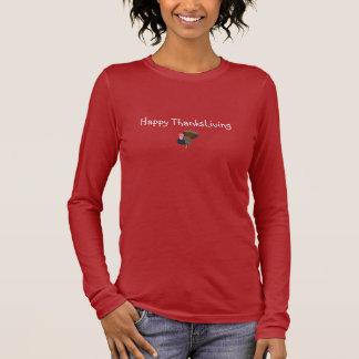 ThanksLivingのベジタリアンのティー Tシャツ