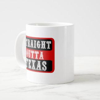 thatsticker.comのまっすぐなouttaテキサス州20オンスのマグ ジャンボコーヒーマグカップ