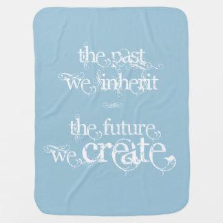 """""""。.theの未来私達は""""ベビーカーかCarseat毛布を作成します ベビー ブランケット"""