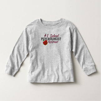 The #1 School Psychologist Assistant Shirt トドラーTシャツ