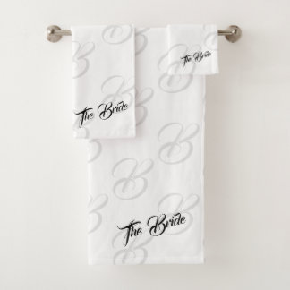 The Bride Bathroom Towel Set バスタオルセット