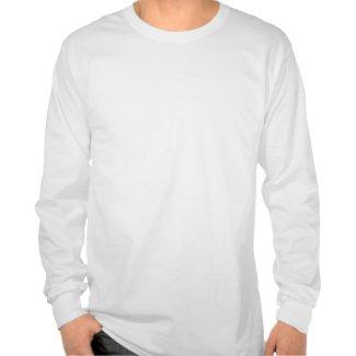 生姜を抱いた冬のねこ シャツ