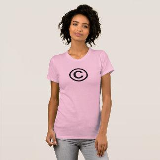 The Copyright Symbol Women's T-Shirt Tシャツ