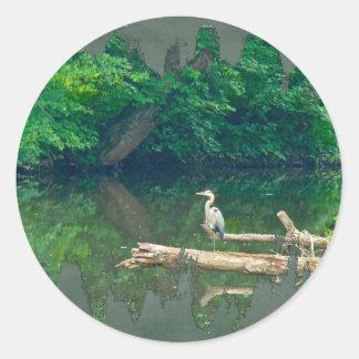 The Creekの朝 ラウンドシール