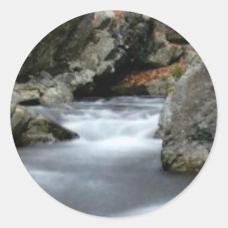 The Creekの石 ラウンドシール