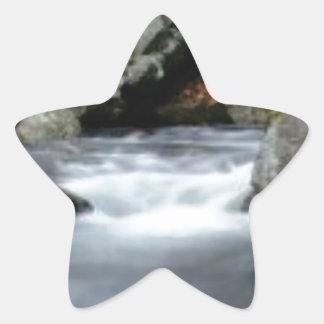 The Creekの石 星シール