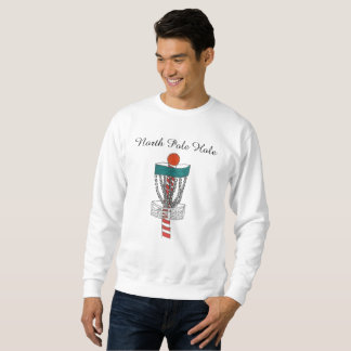 The disc golf North Pole Hole sweatshirt スウェットシャツ