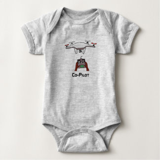 The drone co-pilot baby onsie jumpsuit ベビーボディスーツ