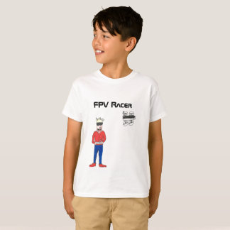 The FPV Racer drone t-shirt Tシャツ