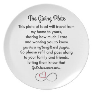 The Giving Plate プレート