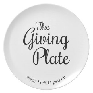The Giving Plate - Simple Version プレート