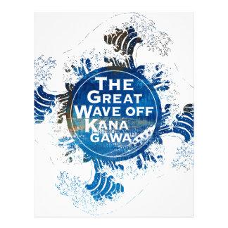 The Great Wave off Kanagawa レターヘッド