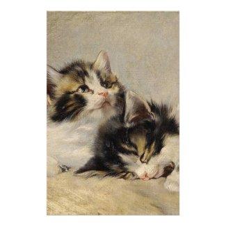 夢見る子猫 オリジナルレター用品