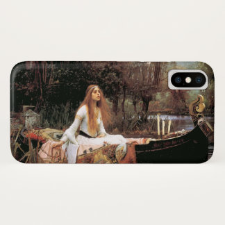 """""""The Lady Of Shallot"""" by Waterhouse #2 iPhone X ケース"""