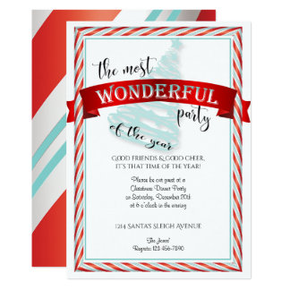 The Most Wonderful Time Christmas Party カード