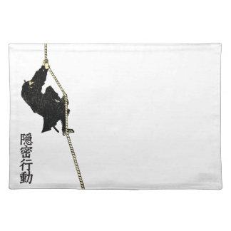 The Ninja by Hokusai Katsushika ランチョンマット