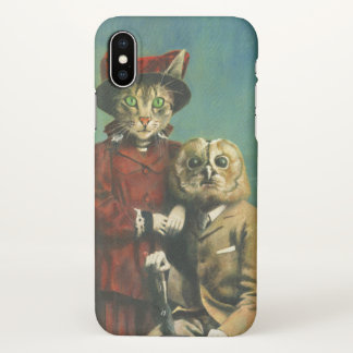 The Owl And The Pussy Cat iPhone X Case iPhone X ケース