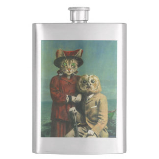 The Owl And The Pussy Cat Premium Flask フラスク