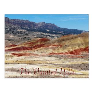 The Painted Hills of Oregon Travel ポストカード
